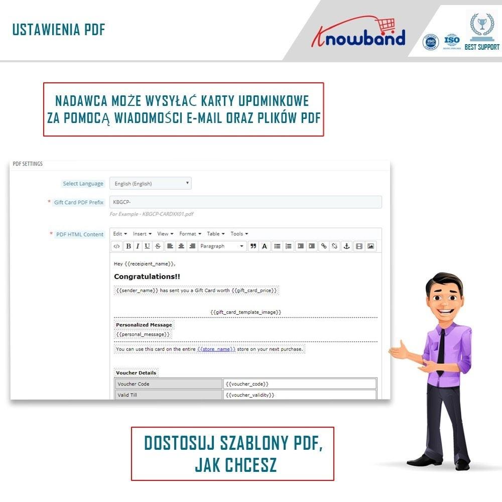 module - Lista życzeń & Karta podarunkowa - Knowband - Gift card manager - 4