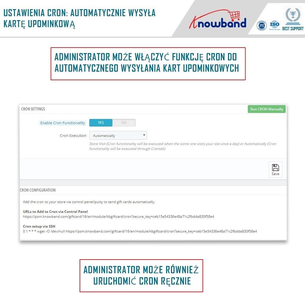 module - Lista życzeń & Karta podarunkowa - Knowband - Gift card manager - 5
