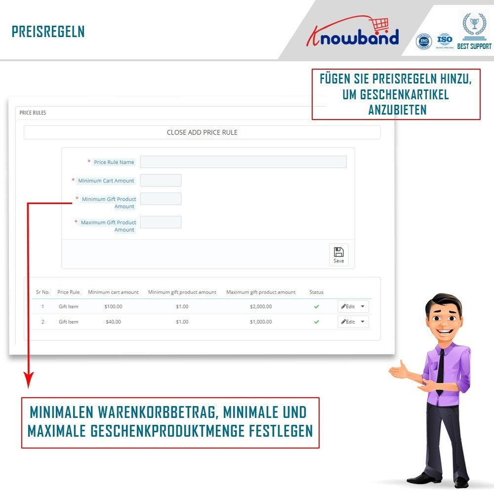 module - Promotion & Geschenke - Knowband - Gift the product - 4
