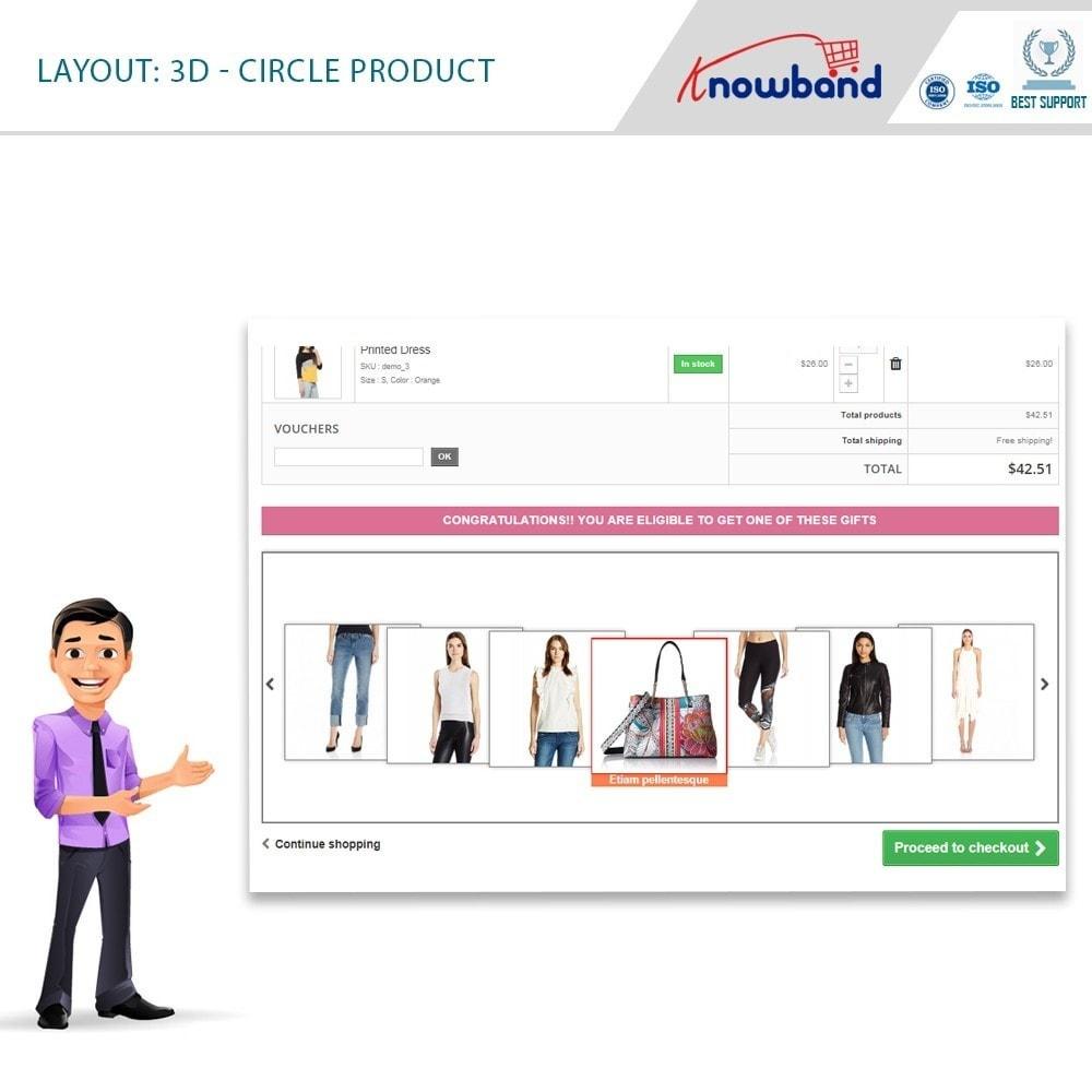 module - Promozioni & Regali - Knowband - Gift the product - 3