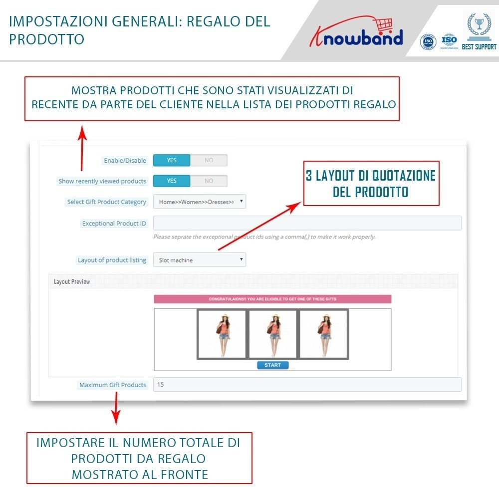 module - Promozioni & Regali - Knowband - Gift the product - 5