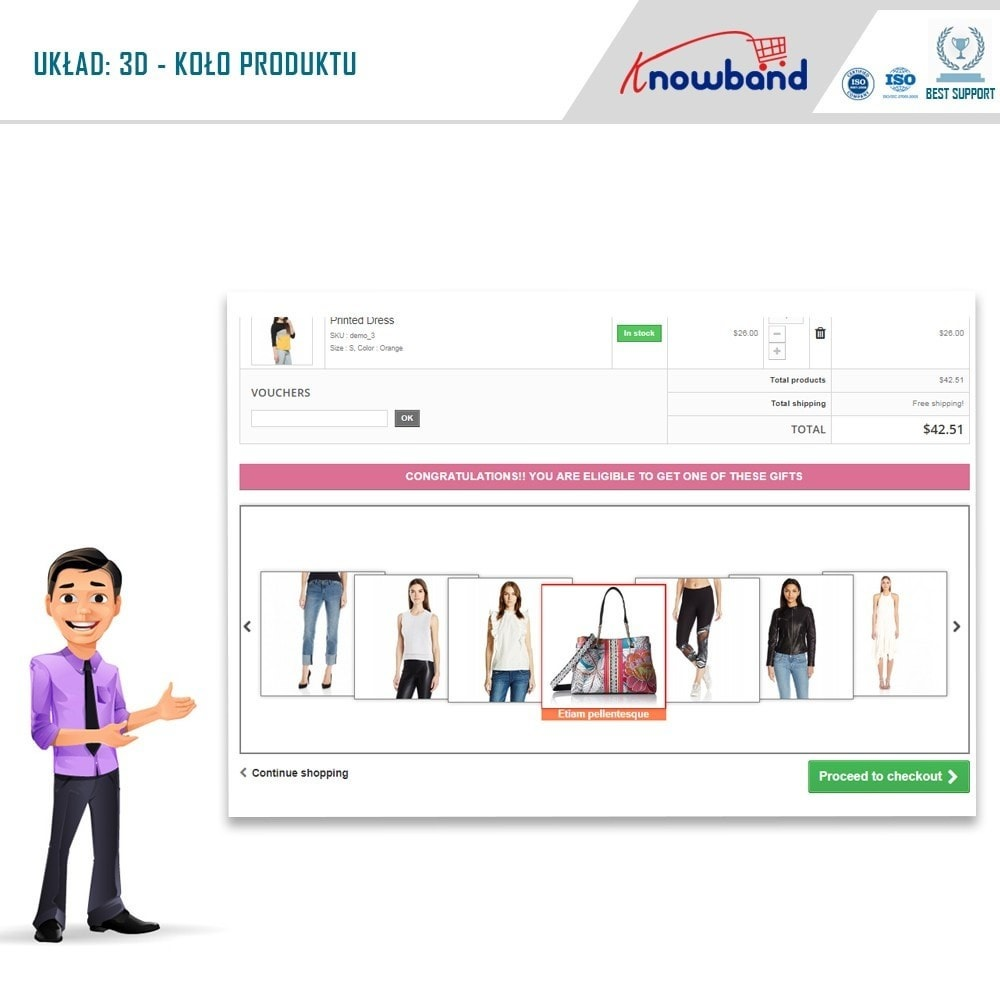 module - Promocje & Prezenty - Knowband - Gift the product - 2