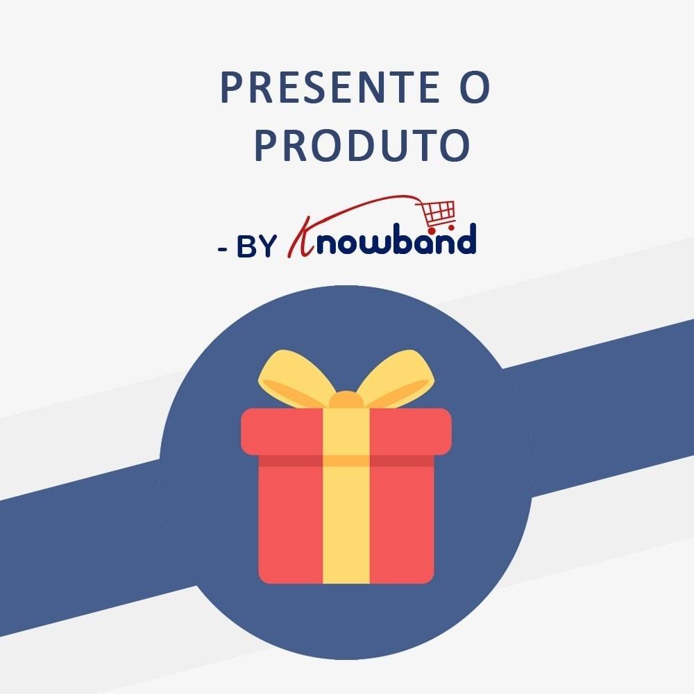 module - Promoções & Brindes - Knowband - Gift the product - 1