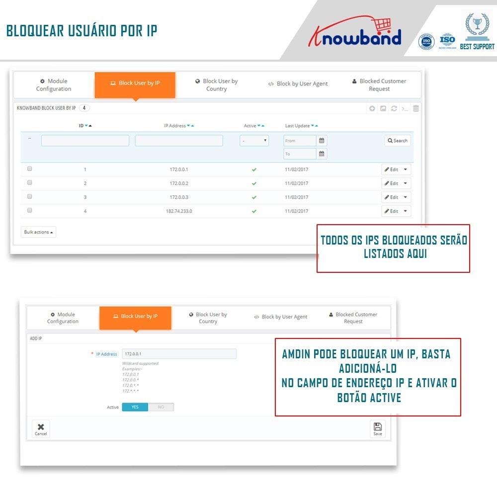 module - Segurança & Acesso - Bloqueie Bot/Usuário por IP, país ou Agente - 2