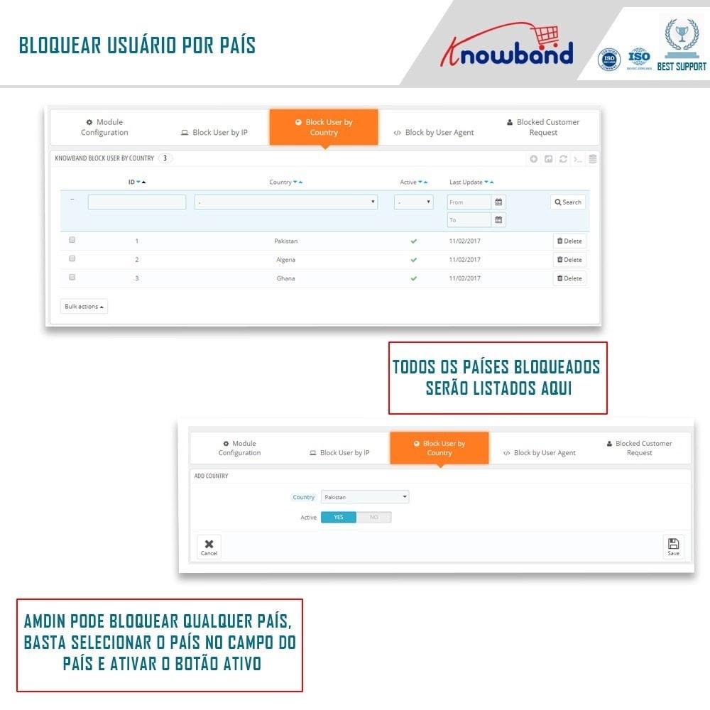module - Segurança & Acesso - Bloqueie Bot/Usuário por IP, país ou Agente - 3