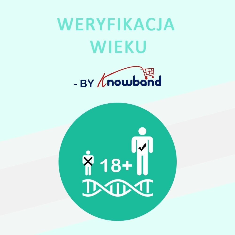 module - Bezpieczeństwa & Dostępu - Age Verification Popup   18+ Verification - 1