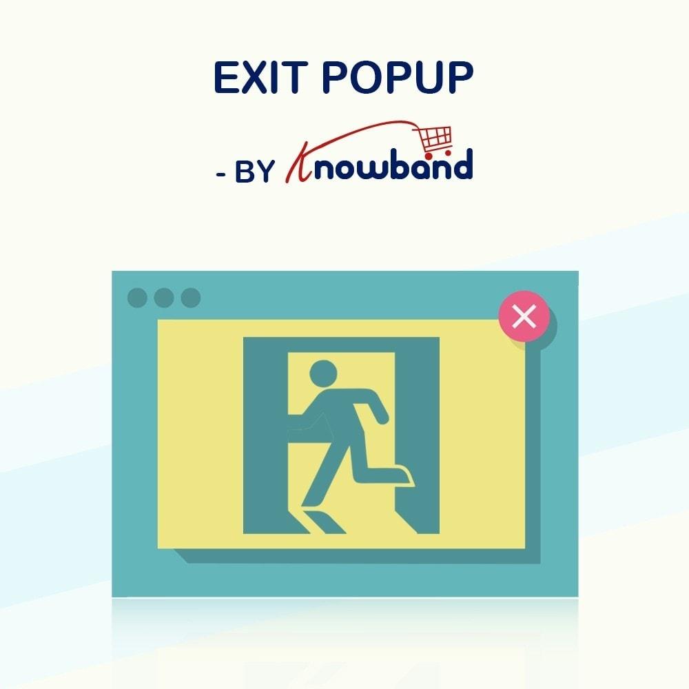 module - Remarketing & Carrelli abbandonati - Knowband - Exit Popup - 1