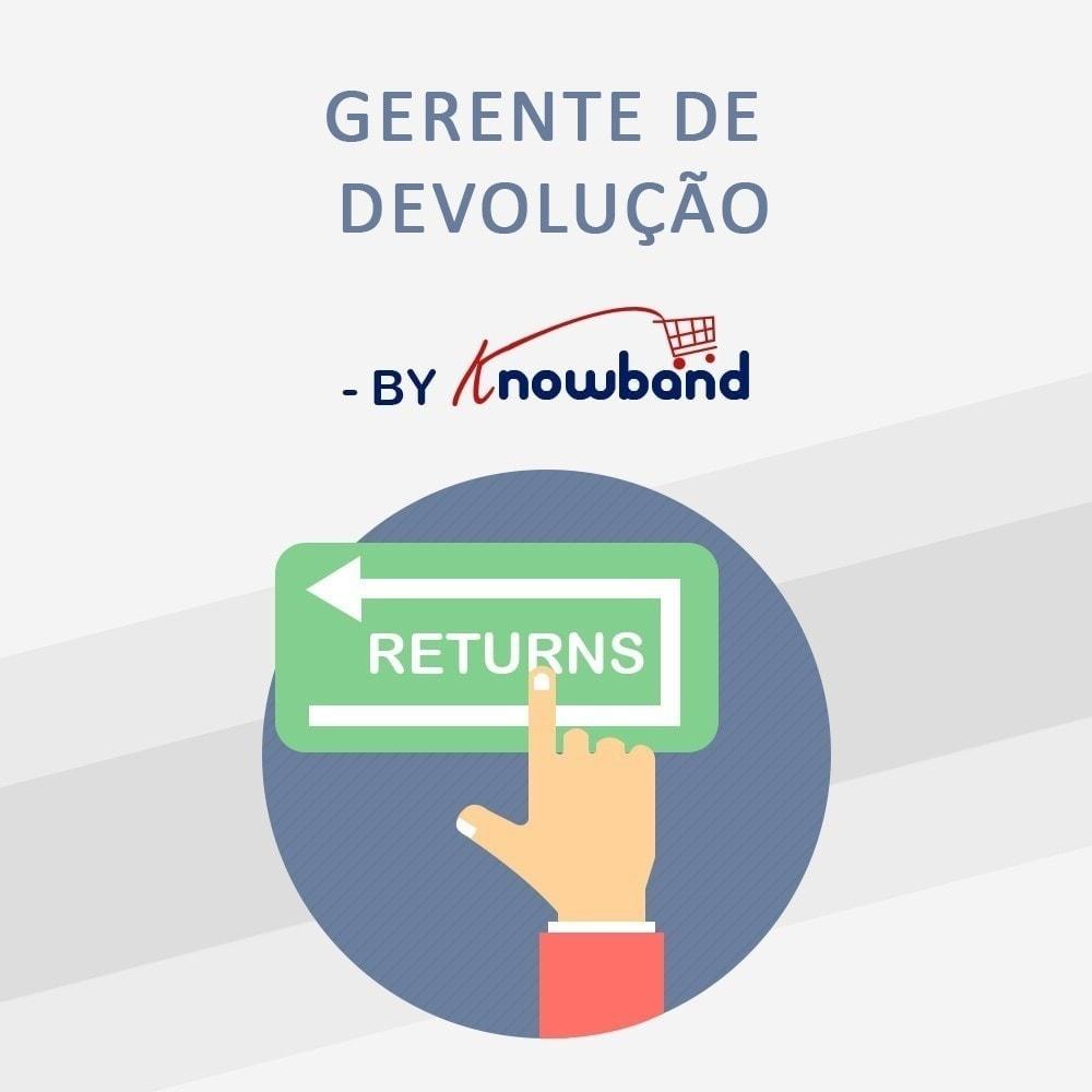 module - Servizio post-vendita - Knowband - Gestore Ordini di Restituzione - 1