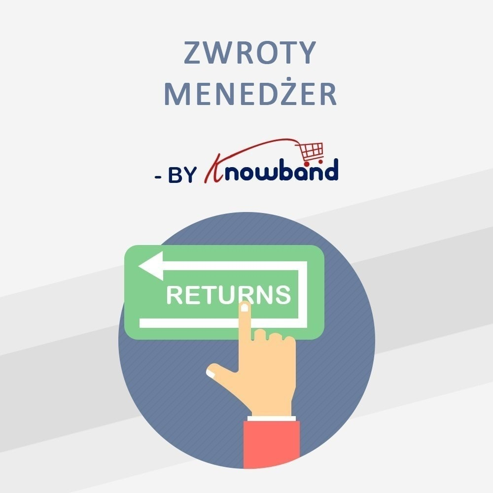 module - Serwis posprzedażowy - Knowband - Order Return Manager(Return Slip & Barcode) - 1