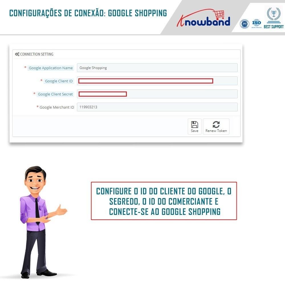 module - Comparadores de preços - Google Shopping (Google Merchant Centre) - 1
