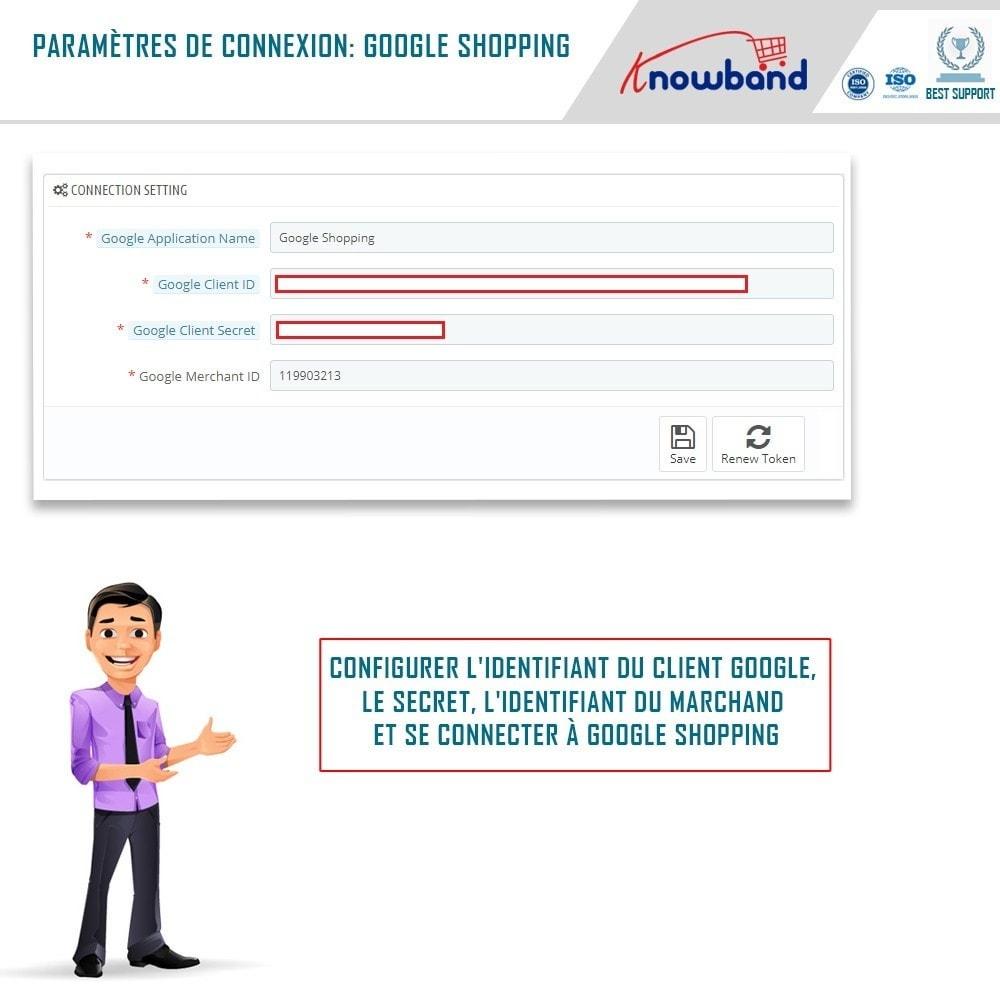 module - Comparateurs de prix - Google Shopping (Google Merchant Centre) - 1