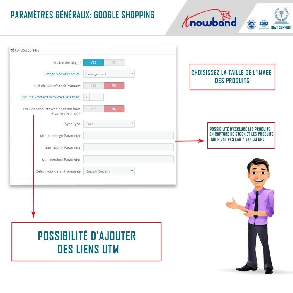 module - Comparateurs de prix - Google Shopping (Google Merchant Centre) - 2