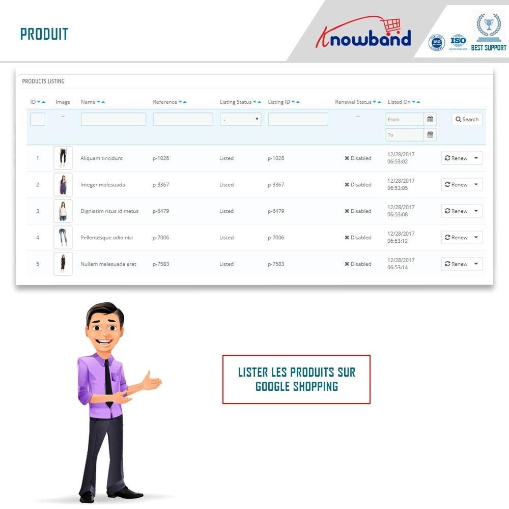 module - Comparateurs de prix - Google Shopping (Google Merchant Centre) - 3