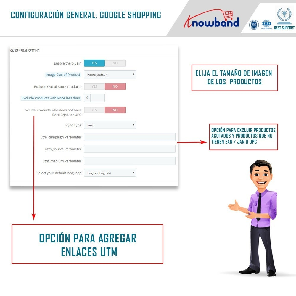 module - Comparadores de Precios - Google Shopping (Google Merchant Centre) - 2