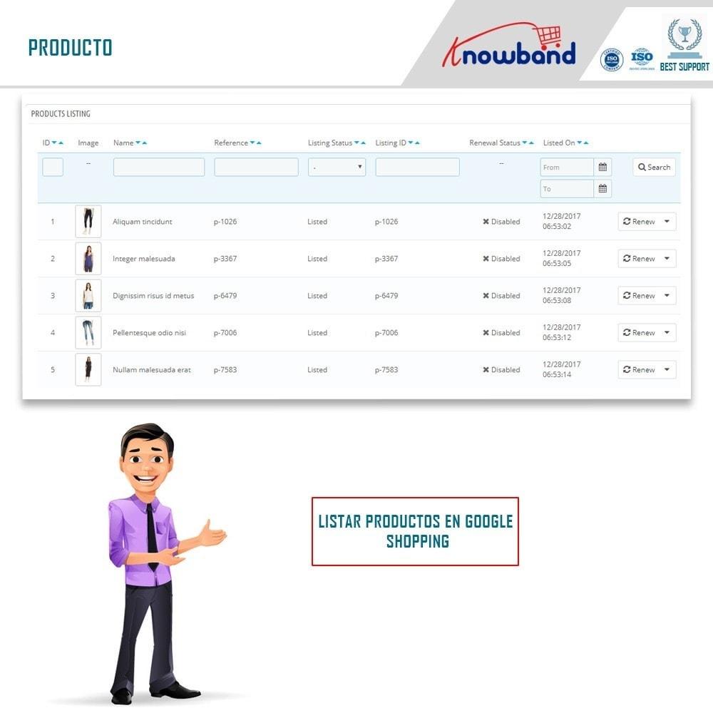 module - Comparadores de Precios - Google Shopping (Google Merchant Centre) - 3