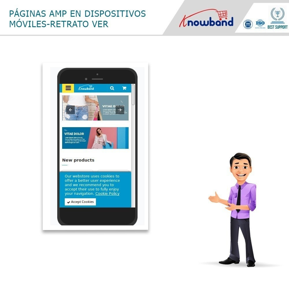 module - Dispositivos móviles - Knowband - Accelerated Mobile Pages (AMP) - 4