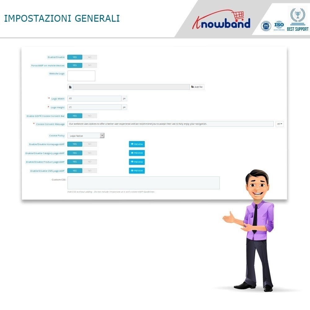 module - Dispositivi mobili - Knowband - Accelerated Mobile Pages (AMP) - 2