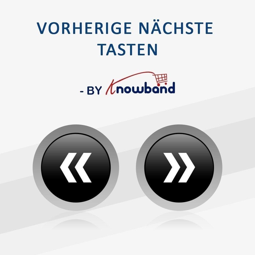 module - Navigationstools - Vorherige und Nächste Button - 1