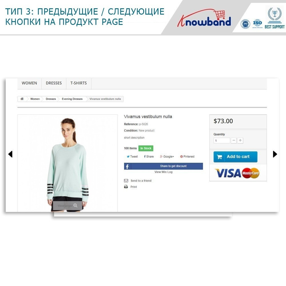 module - Инструменты навигации - Previous Next buttons on product page - 2