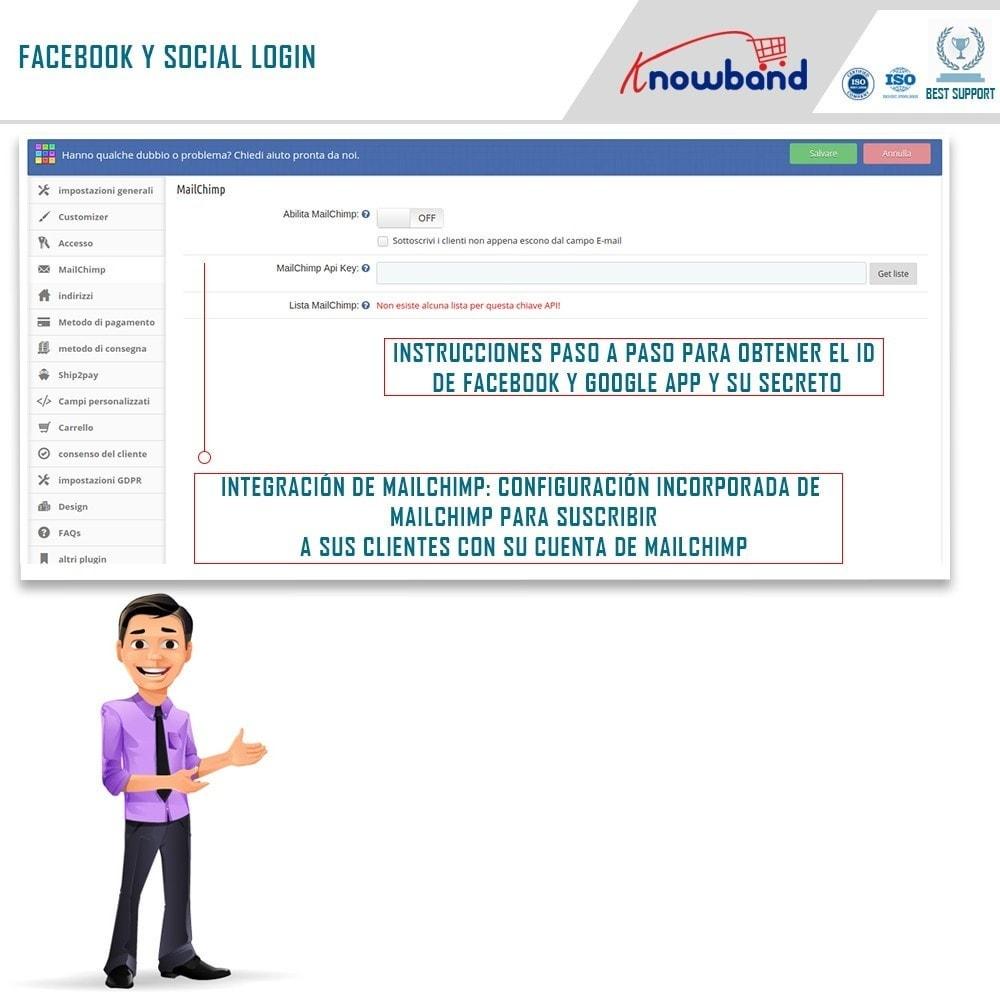 module - Express Checkout - One Page Checkout, Social Login & Mailchimp - 7