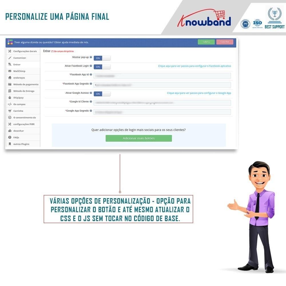 module - Processo de pedido - Checkout de Uma Página,Login Social &Mailchimp - 4