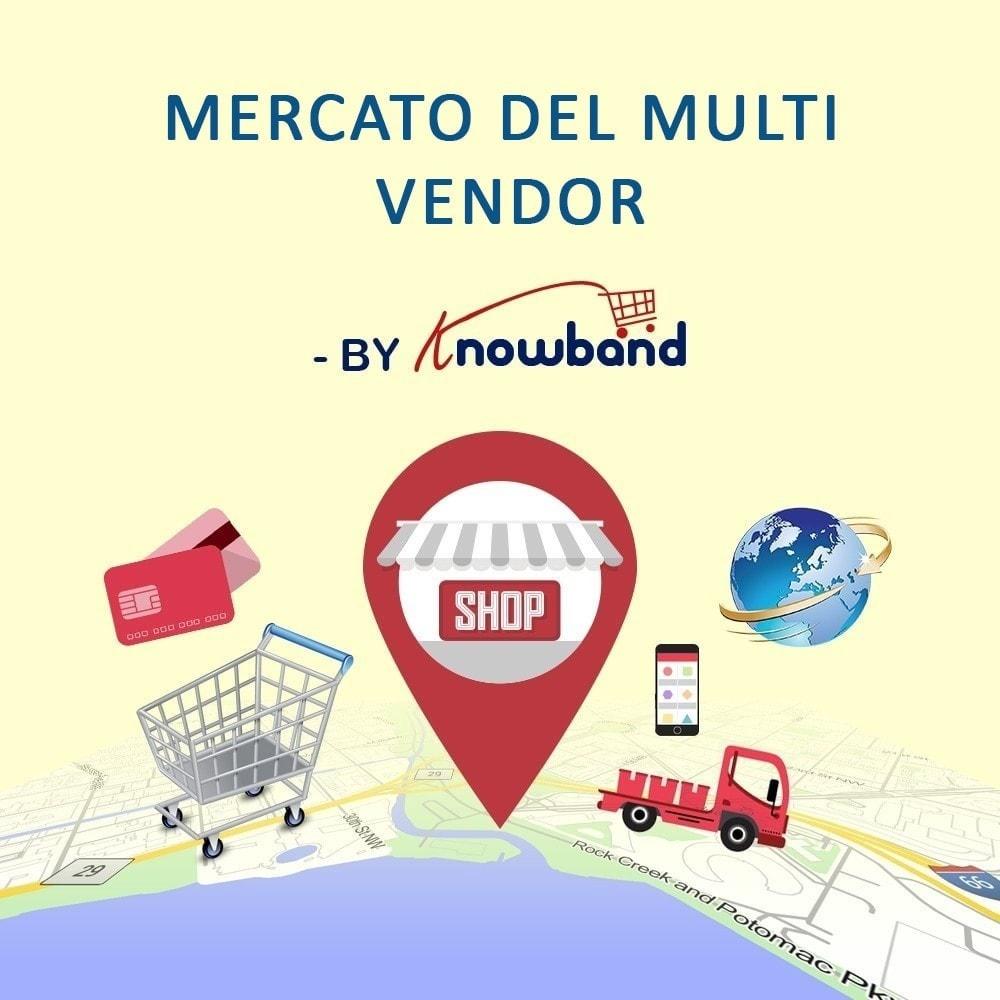 module - Creazione Marketplace - Knowband - Multi Vendor Marketplace - 1