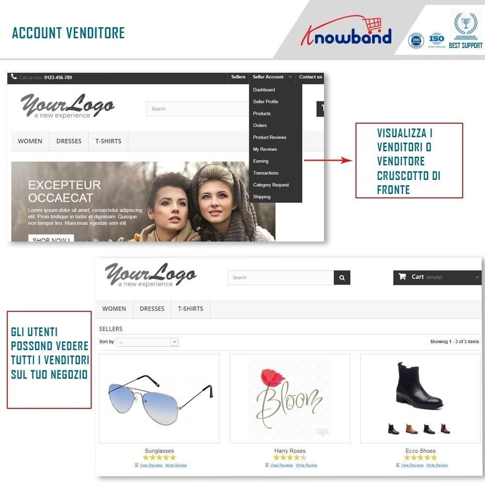 module - Creazione Marketplace - Knowband - Multi Vendor Marketplace - 2