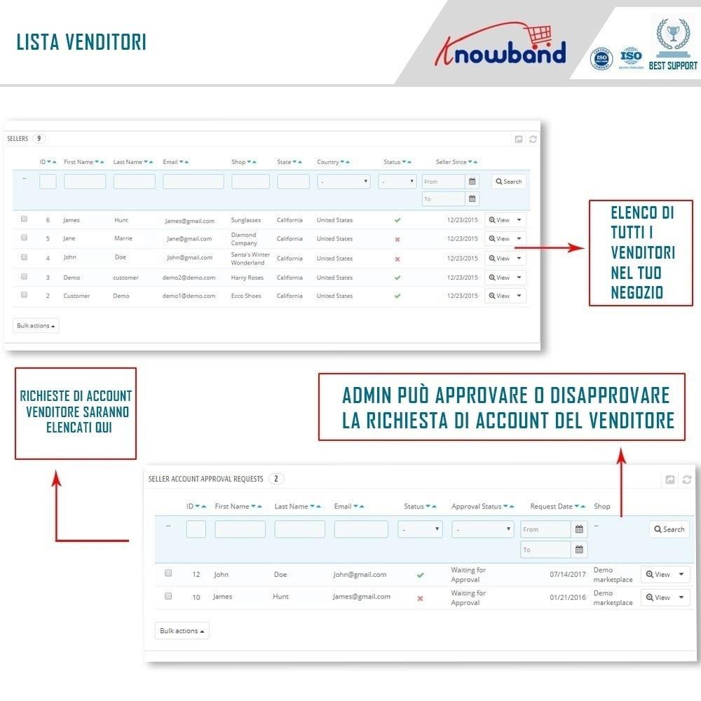 module - Creazione Marketplace - Knowband - Multi Vendor Marketplace - 7