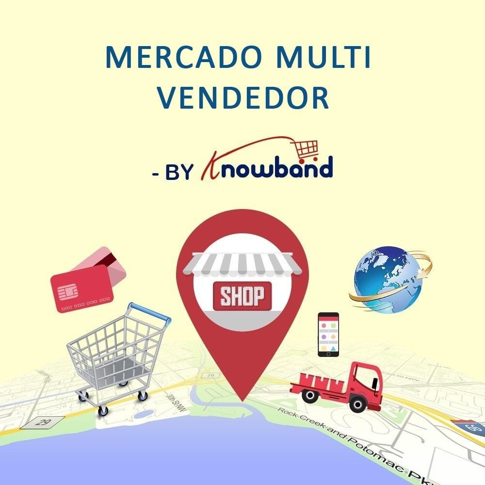 module - Criação de Marketplace - Knowband - Multi Vendor Marketplace - 1