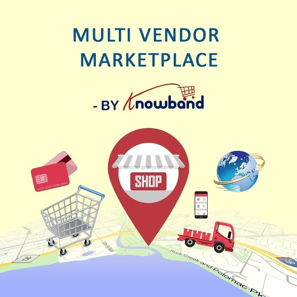 module - Marketplace Erstellen - Knowband - Multi Vendor Marketplace - 1