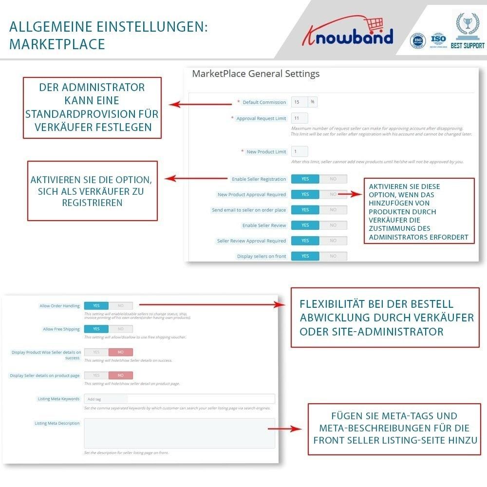 module - Marketplace Erstellen - Knowband - Multi Vendor Marketplace - 6