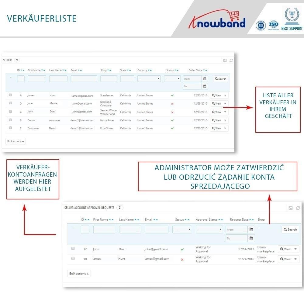 module - Marketplace Erstellen - Knowband - Multi Vendor Marketplace - 7