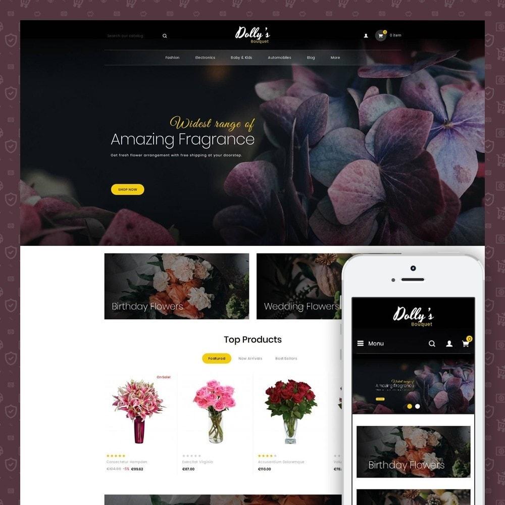 theme - Cadeaus, Bloemen & Gelegenheden - DollysBouquet - Flowers Store - 1