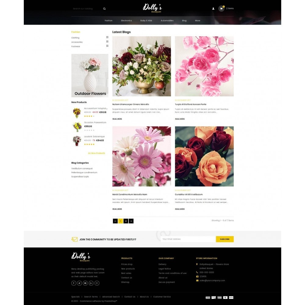 theme - Cadeaus, Bloemen & Gelegenheden - DollysBouquet - Flowers Store - 9