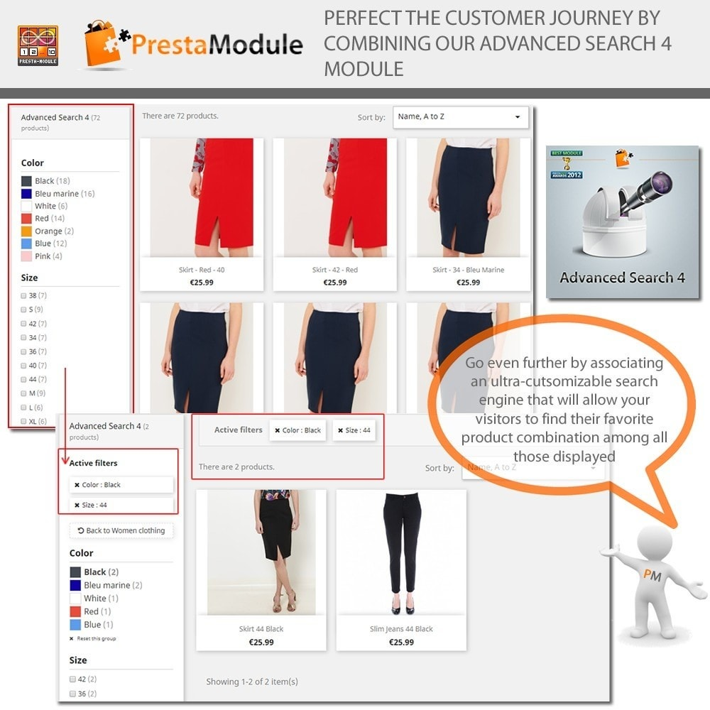 module - Combinations & Product Customization - Products by Attributes: Display combinations-attributes - 8