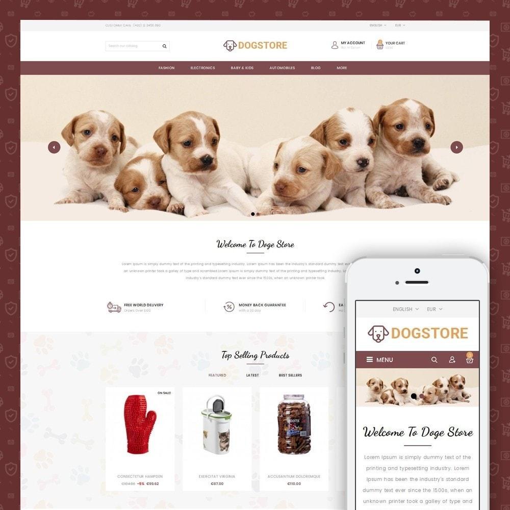 theme - Животные и домашние питомцы - Dog Store - Pet Food Store - 1