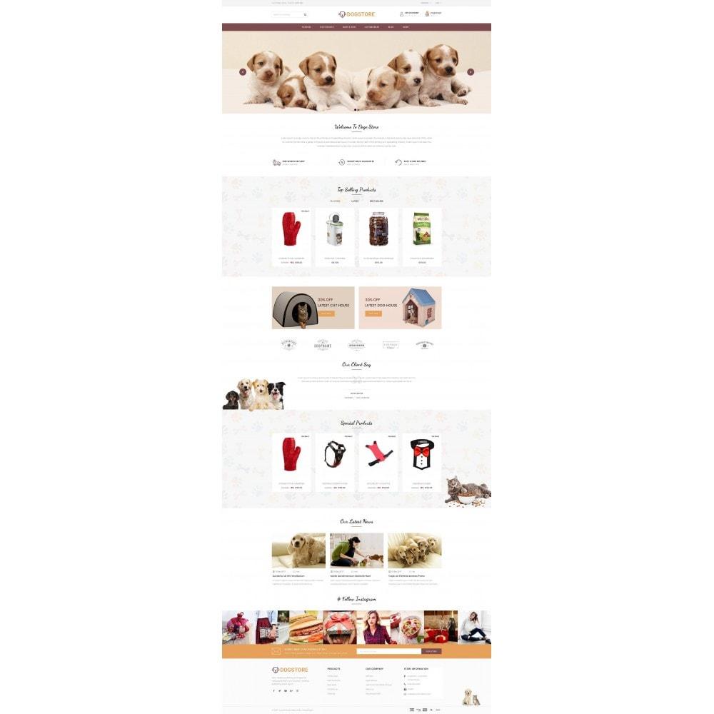 theme - Животные и домашние питомцы - Dog Store - Pet Food Store - 2