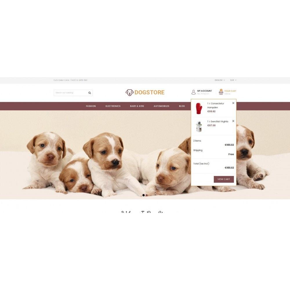 theme - Животные и домашние питомцы - Dog Store - Pet Food Store - 7