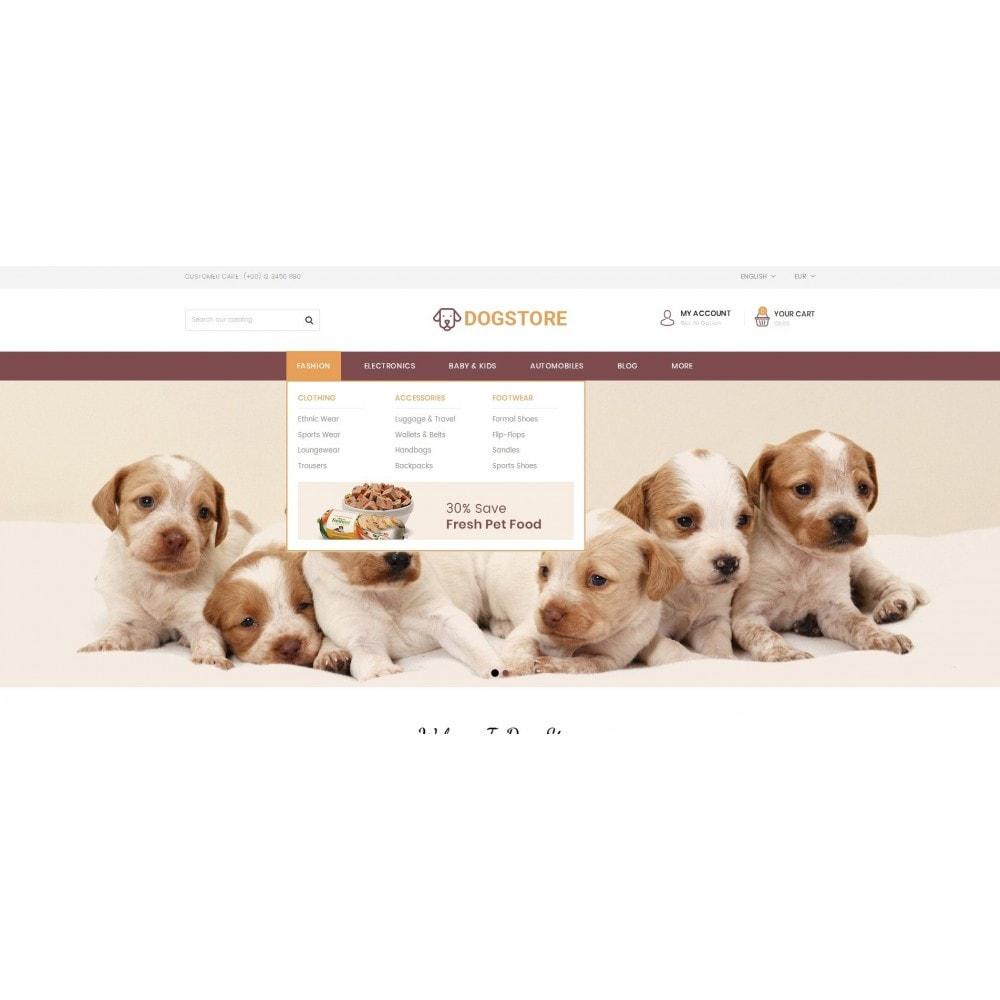 theme - Животные и домашние питомцы - Dog Store - Pet Food Store - 8