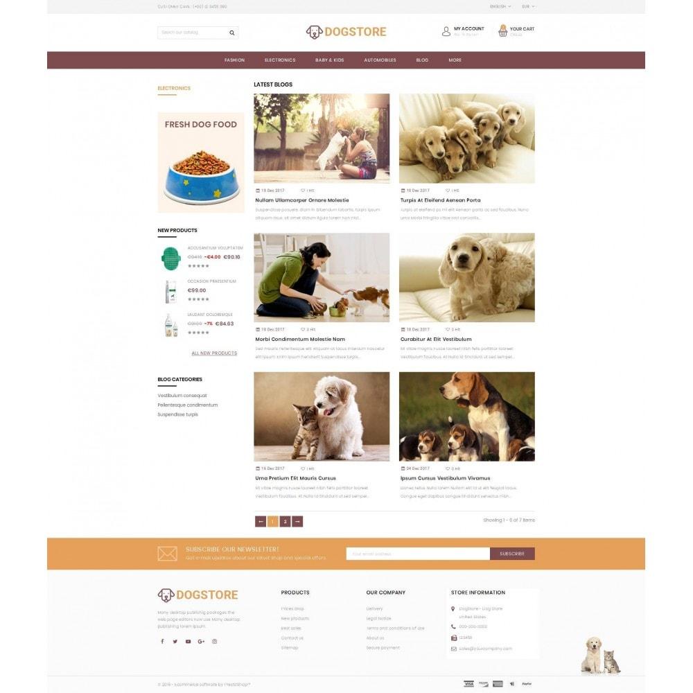 theme - Животные и домашние питомцы - Dog Store - Pet Food Store - 9