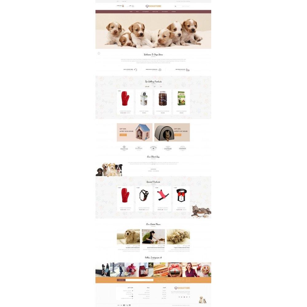 theme - Животные и домашние питомцы - Dog Store - Pet Food Store - 10