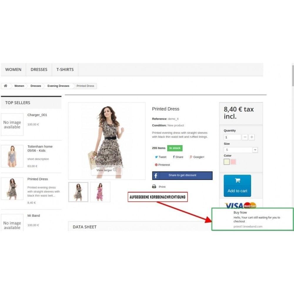 module - Promotion & Geschenke - Web Push Notification - 1