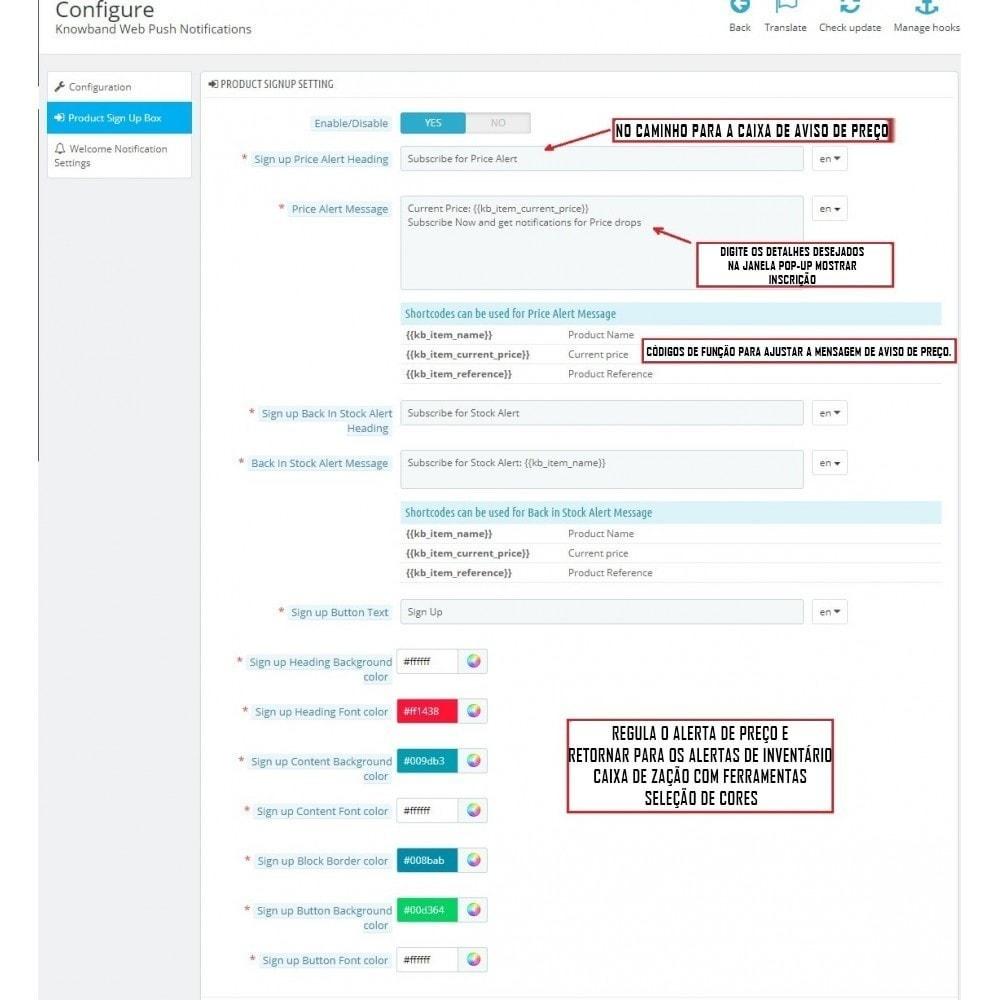 module - Promoções & Brindes - Web Push Notification - 4