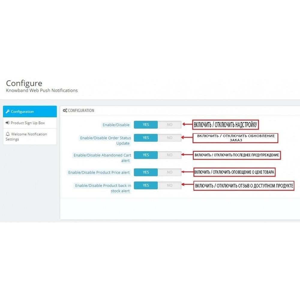 module - Акции и Подарки - Web Push Notification - 6
