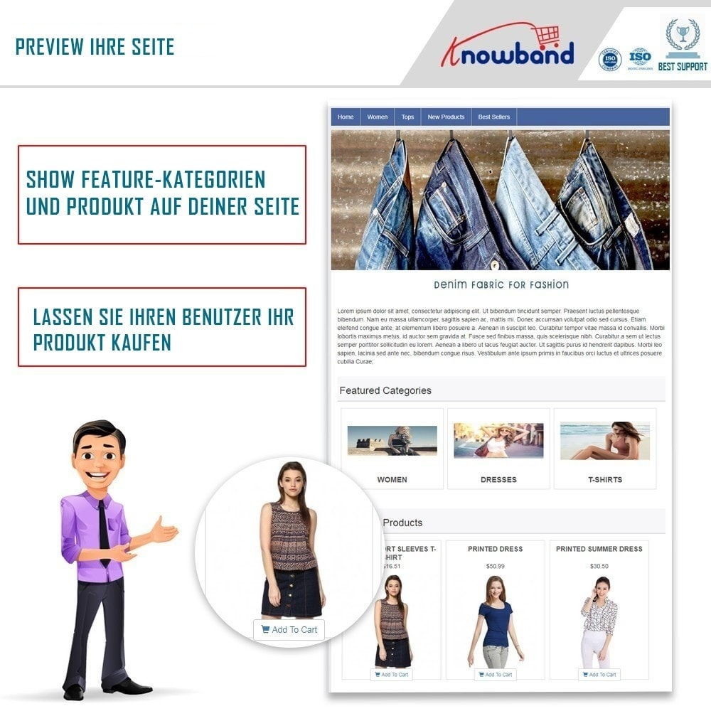 module - Produkte in Facebook & sozialen Netzwerken - Social Shop Integrator - 1