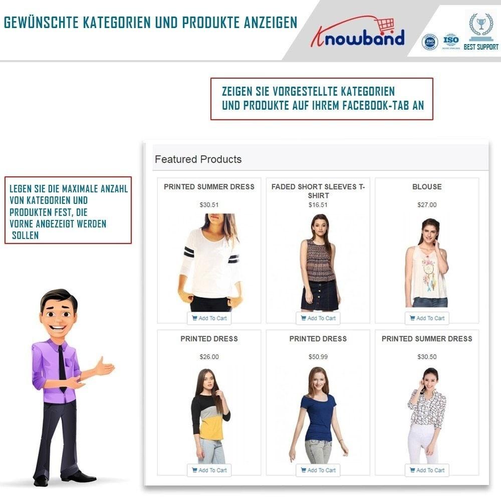 module - Produkte in Facebook & sozialen Netzwerken - Social Shop Integrator - 4