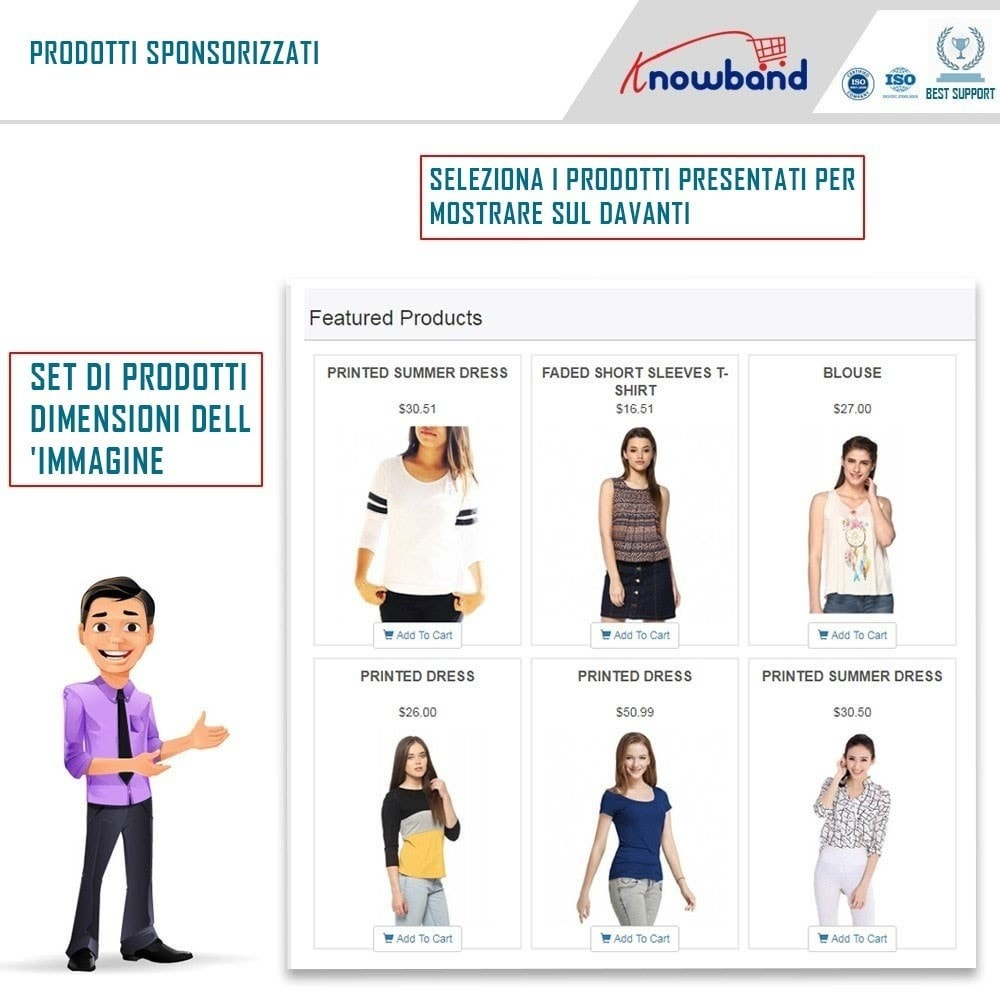 module - Prodotti sui Facebook & Social Network - Social Shop Integrator - 5