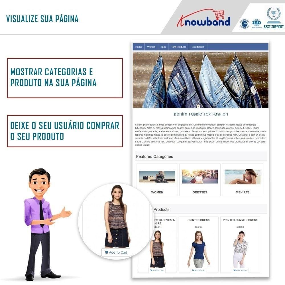 module - Produtos nas Facebook & Redes Sociais - Social Shop Integrator - 1