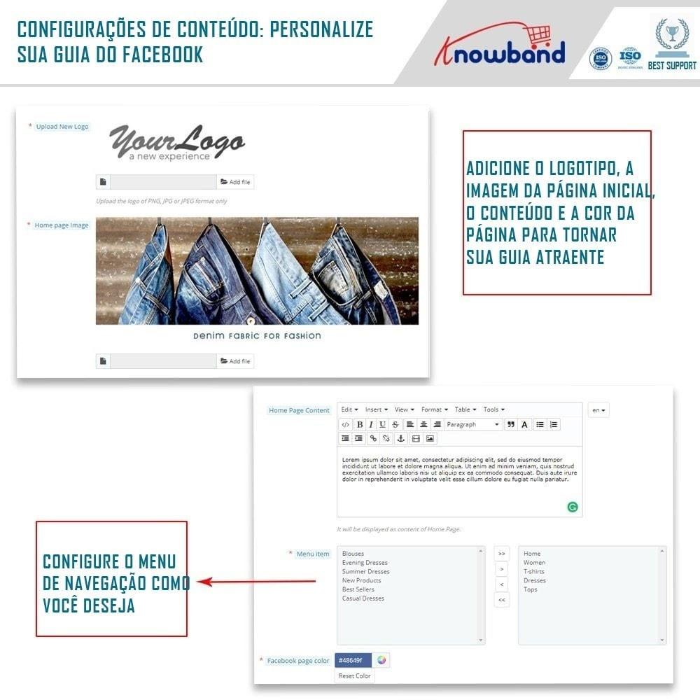 module - Produtos nas Facebook & Redes Sociais - Social Shop Integrator - 3