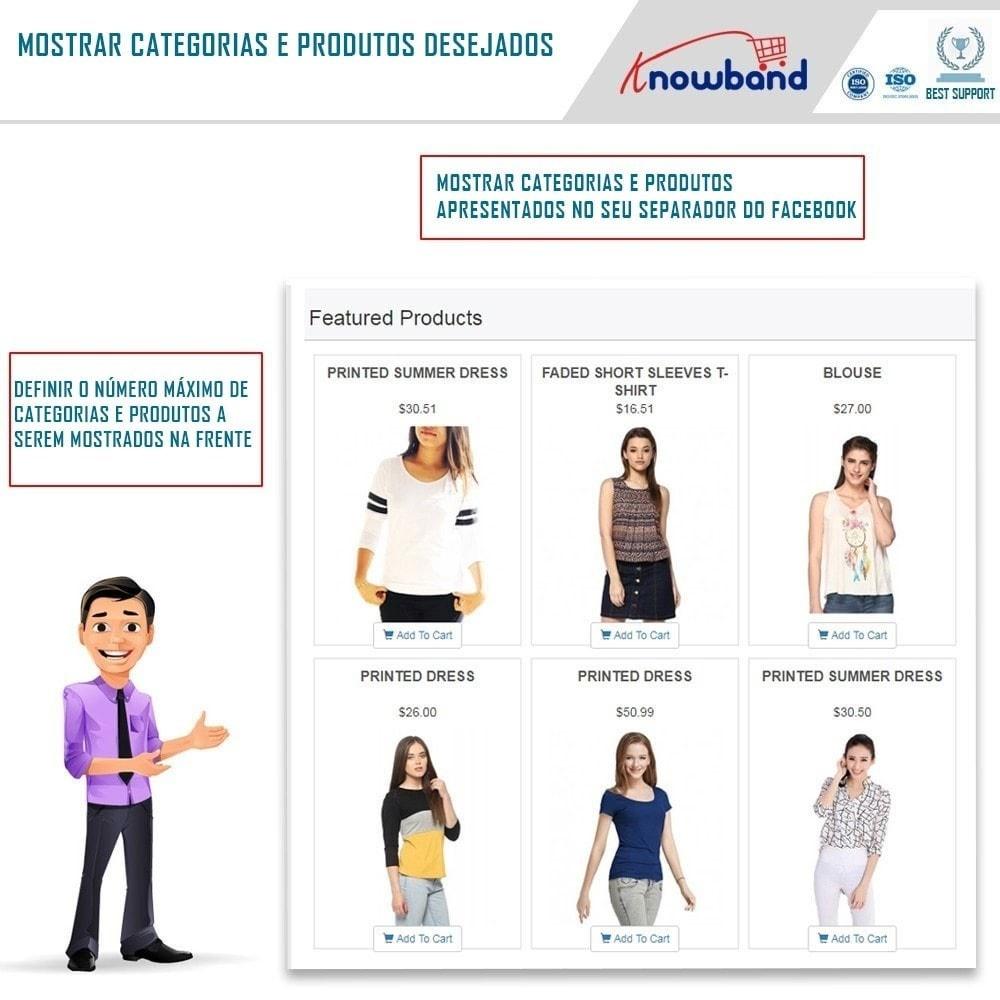 module - Produtos nas Facebook & Redes Sociais - Social Shop Integrator - 4